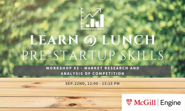 Workshop #3 - Market Research and Analysis of Competition