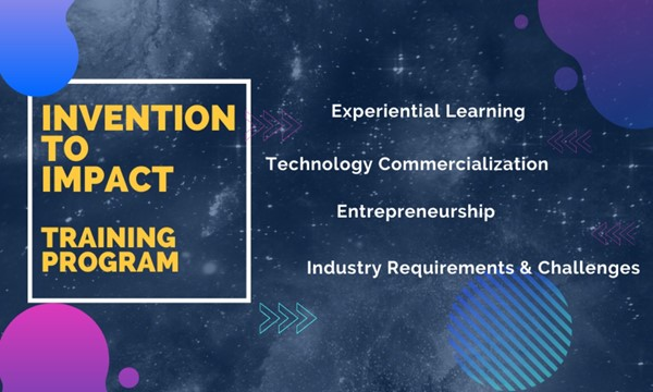 Invention to Impact Training Program Information Session