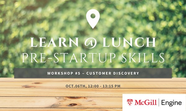 Workshop #5 – Customer Discovery