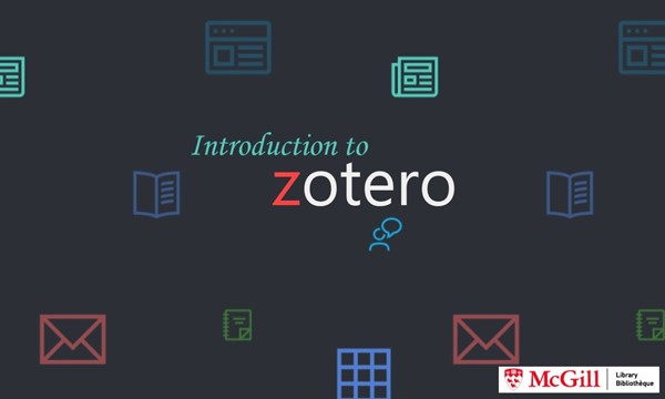 Introduction to Zotero